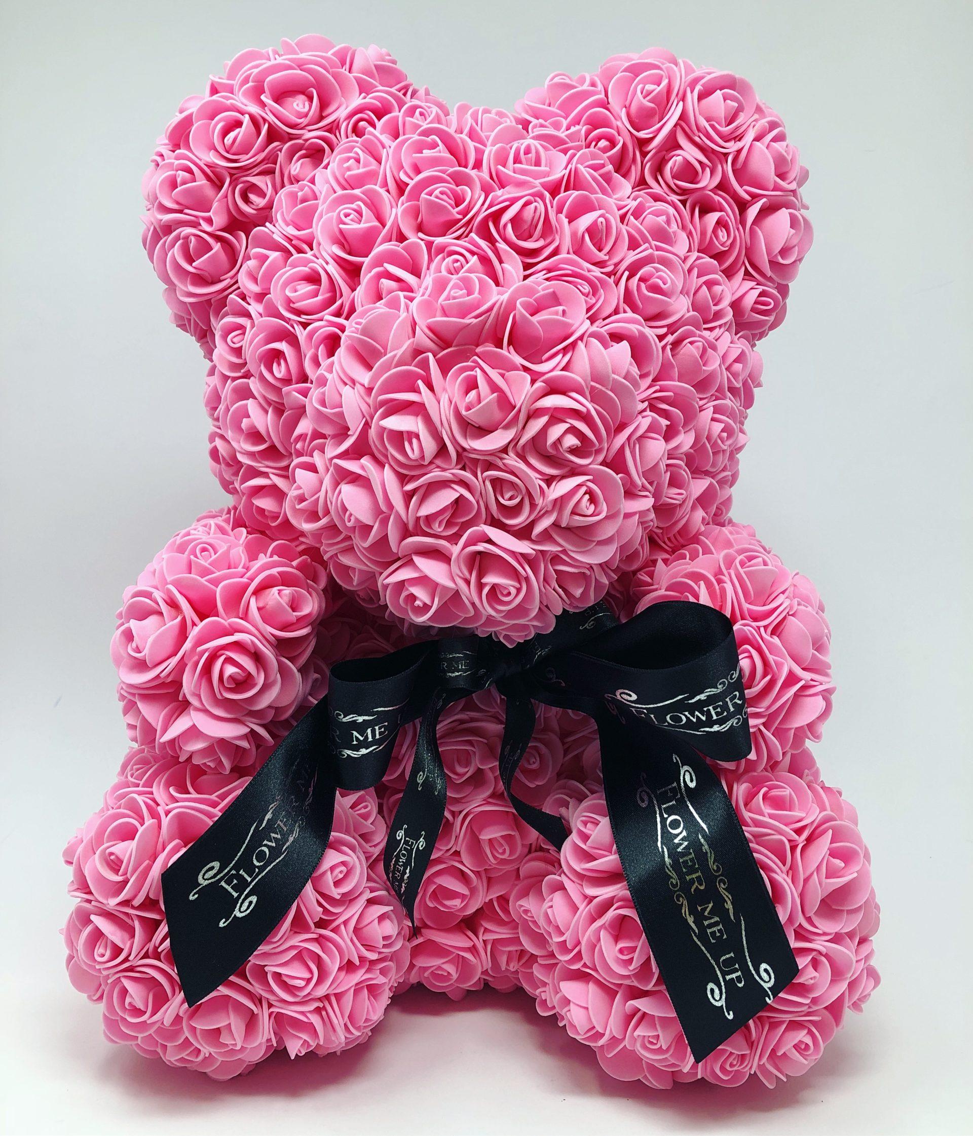 Flower Me Bear Pink Up Wrist